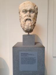 Cabeza de Sócrates